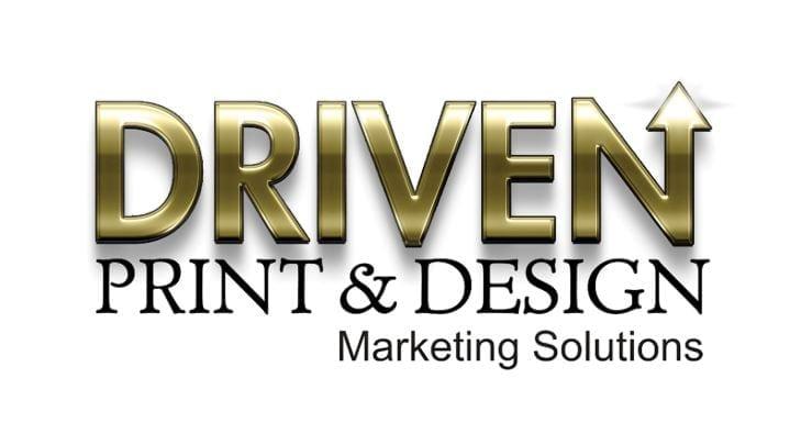 19 July Driven print & Designs Logo