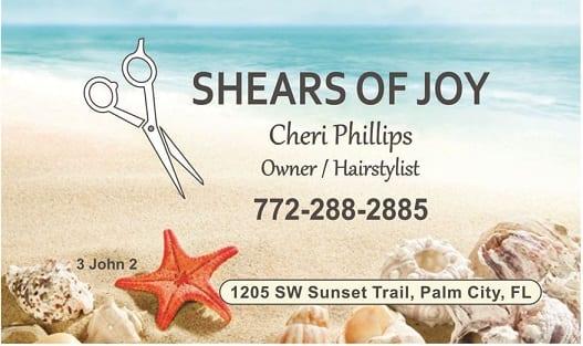 20 Aug Shears of Joy Business Card a