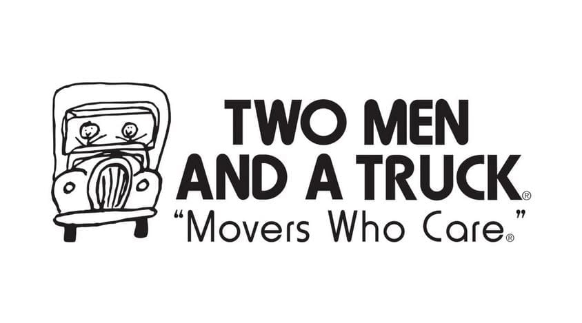 July Two Men and a Truck Large logo