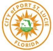 20 Dec City of Port St Lucie Logo