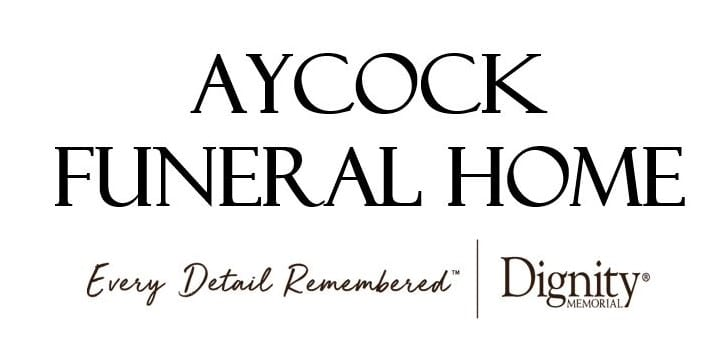 21 Apr New Aycock Funeral Home Logo