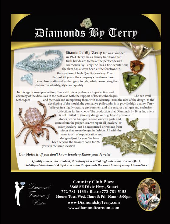 21 Oct Diamonds by Terry Ad New